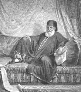 Mohammed Ali, 1805. Bild: Wikimedia
