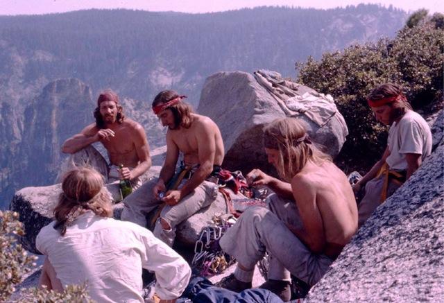 Vom Aussterben bedroht: Die guten alten «Dirtbags» aus dem Yosemite-Valley, Kalifornien, in den 1970er-Hippie-Jahren. Sie haben das Big-Wall-Kettern erfunden.  (Foto: Reel Rock Filmtour 2014, «V
