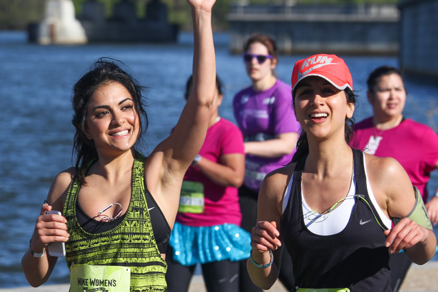 Läuferinnen gefallen Läufer: Nike Women's Half Marathon DC. (Flickr/TheQSpeaks)
