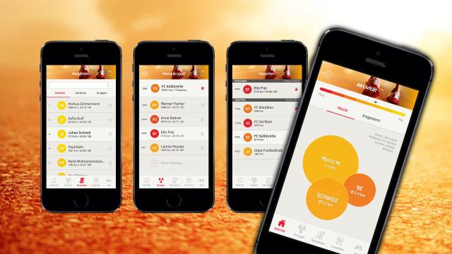 Die App SRF bewegt die Schweiz – auch Sie? Fotos: SRF, Outdoorblog