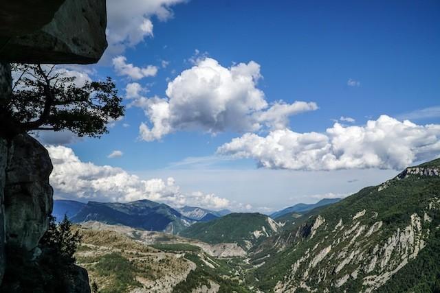 Ein Paradies für Extrem-Kletterer: Die Region um Annot, Frankreich. (Foto: Nicolas Hojac)