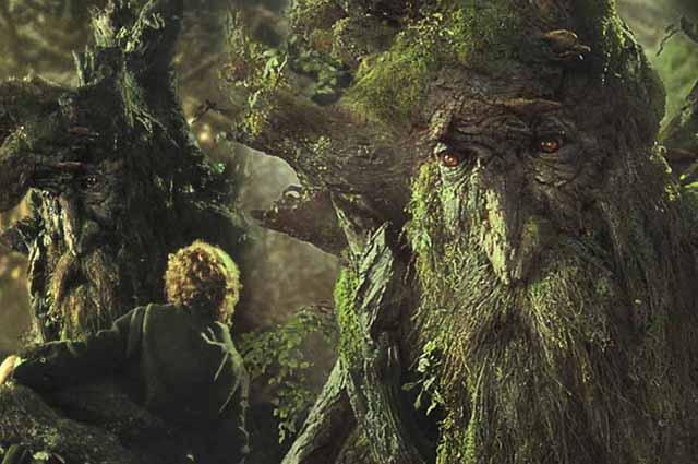 Faszination Wald: In «Herr der Ringe» werden die Bäume um Hilfe gebeten - und erhört. (Warner Bros)