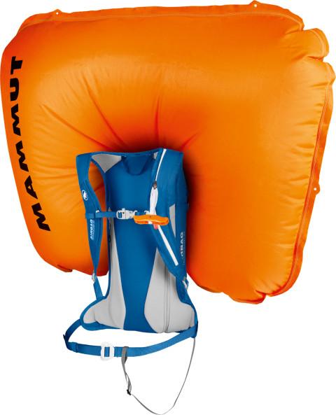 Leichtgewichts-Airbag. Foto: Mammut