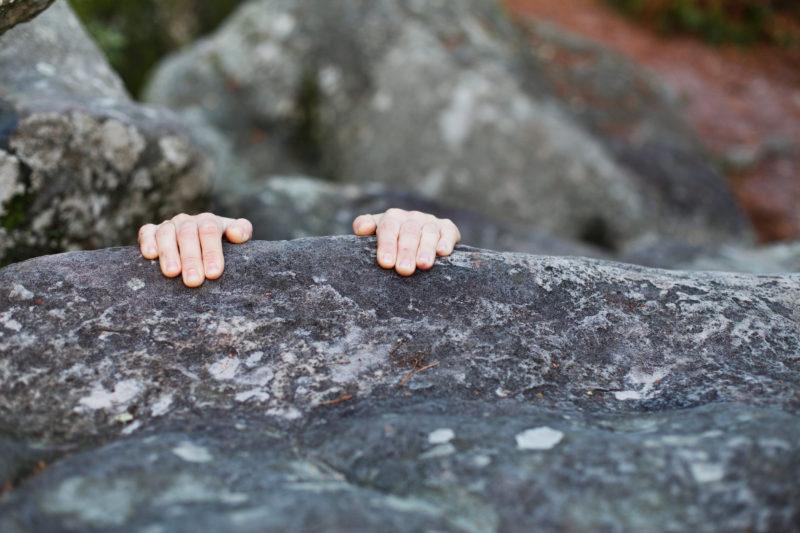 Jeder klettert mal schlecht - und dafür gibt es 40 «plausible» Gründe. (iStock)