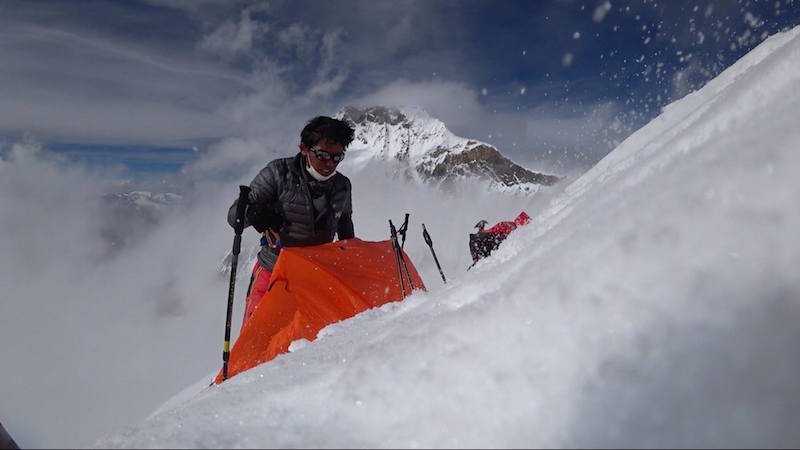 «Nur wer grosse Opfer bringt, wird etwas erreichen»: Nobukazu Kuriki am Mount Everest, Oktober 2016. Foto: Nobukazu Kuriki, «Sharing the Dream» (Facebook)