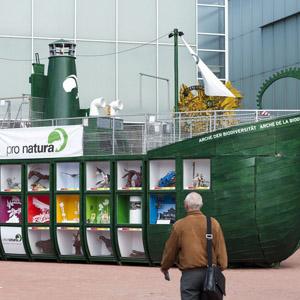 Die Arche der Bioversität in Lausanne (Mai 2011). (Keystone)