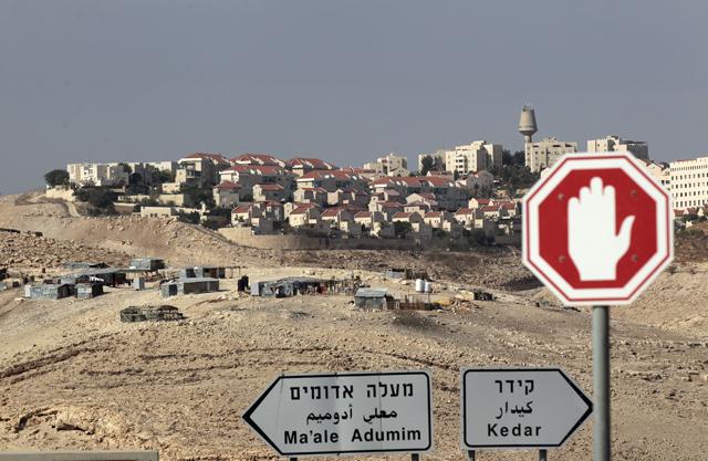 Die Siedlung Maale Adumim im Westjordanland. (Reuters/Ammar Awad)