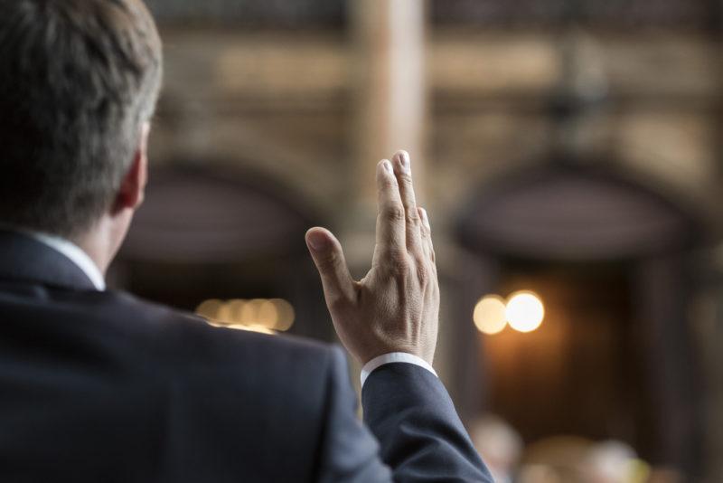 Linkspopulist im Ständerat: SP-Präsident Christian Levrat während einer Debatte im Juni 2016. Foto: Alessandro della Valle (Keystone)
