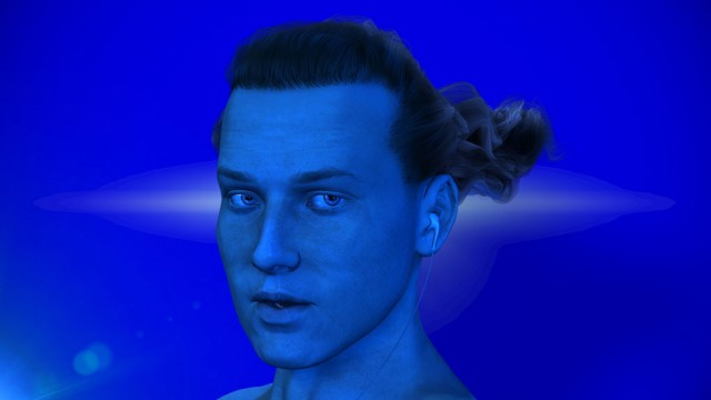 Talking head: Ed Atkins als sein eigener Avatar