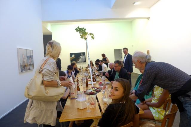 «Baustellen-Dinner» in der Galerie