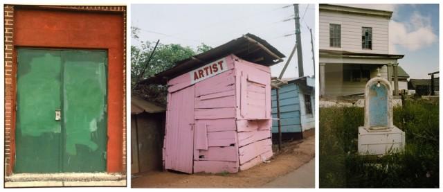 Zoe Leonard: «Niche», 2002/03, «Artist», 2004/06, «Green Door», 2001/02 (Courtesy Mai 36)
