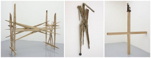 Jacobo Castellano, drei aktuelle Werke in der Galerie Mai 36