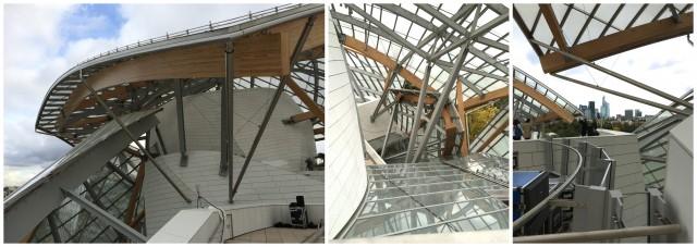 Im architektonischem Taumel: ein Wirrwarr der Formen und Linien in der Fondation Louis Vuitton