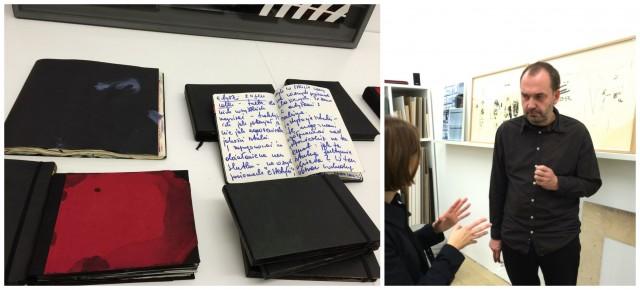 Artur Zmijewski und seine kunstvollen Notizbücher