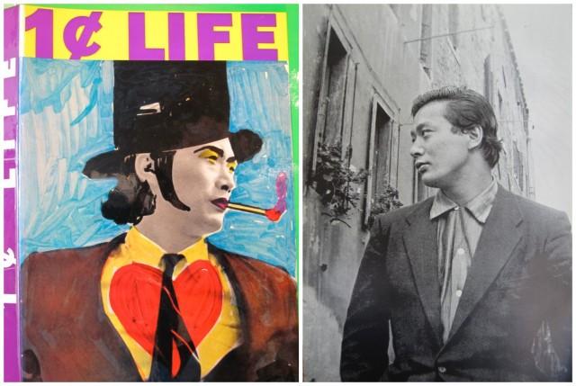 Der Umschlag von «One Cent Life» und junger Walasse Ting in Paris