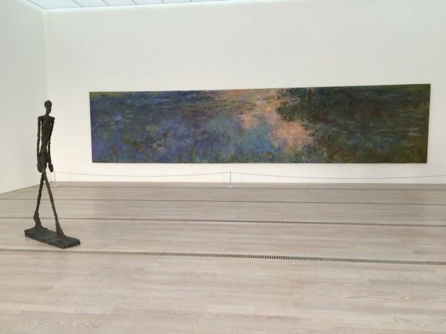 Der Monet-Giacometti-Saal der Fondation Beyeler. Ihr Renomee ist riesig