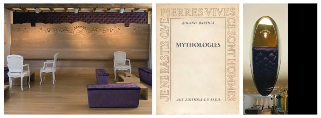 Das Restaurant Michel in Groot Bijgaarden von Koen Deprez, dem Werk «Mythologies» von Roland Barthes nachempfunden