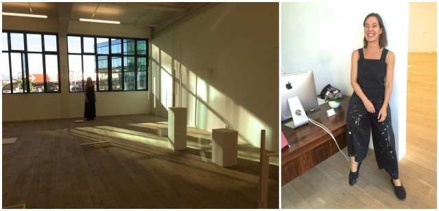 Galerie Peter Kilchmann: Raum mit Schatten, die brasilianische Künstlerin Fernanda Gomes