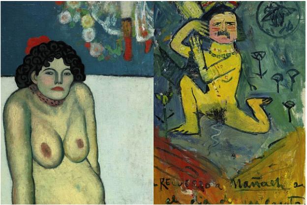 Pablo Picasso: «La Gommeuse» von 1901 und ihre Rückseite