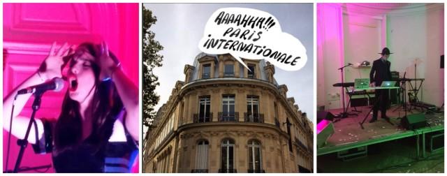 Mathilde Fernandez singt, eine Messe rockt Paris, Disc Jockey mit Hut