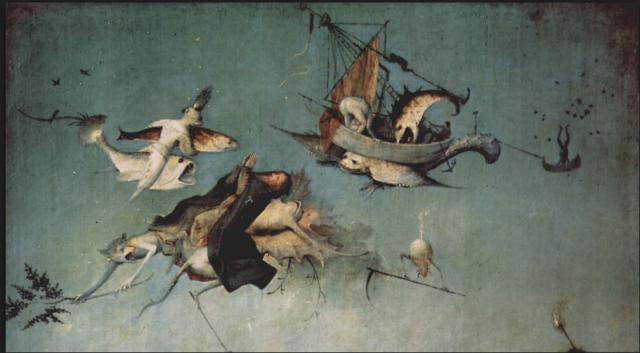 Lauter Monster und Missgeburten: Antonius-Altar (Detail) von Hieronymus Bosch