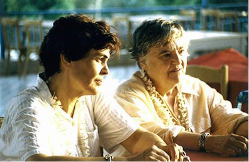 Simone Fattal und Etel Adnan