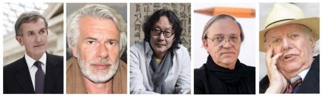 Der Klagechor: Neil McGregor, Chris Dercon, Xu Bing, Robert Storr, Dario Fo