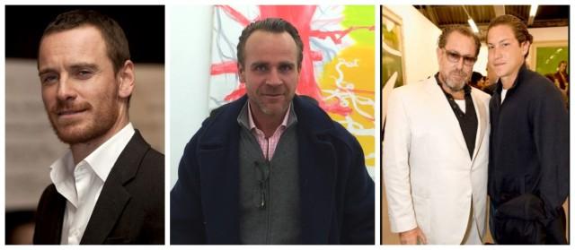 Michael Fassbender, Niklaus Künzler, Papa und Sohn Vito Schnabel