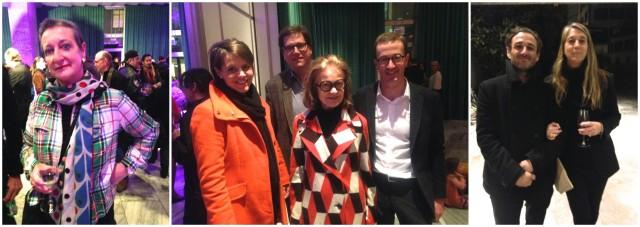 Kennt sich mit X-Chromosom aus: Brida von Castelberg (links), die Architektin Tila Theus mit Neffe Nico und seiner Frau Gabriela, Rists Galerist, Executive Director von Hauser Wirth James Koch