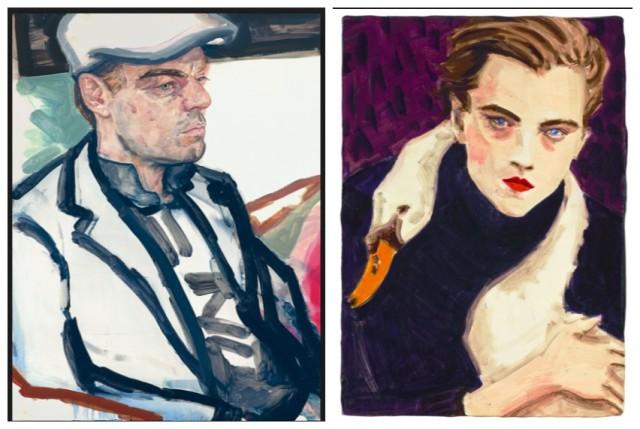 Zweimal Leonardo: Elizabeth Peyton malte den Hollywoodbeau mehrmals