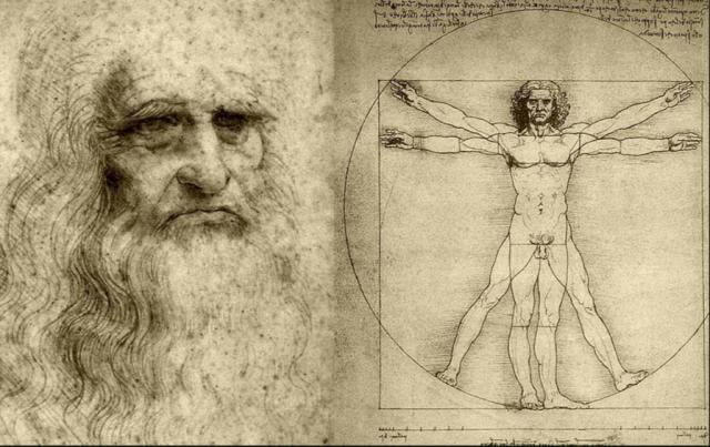 Inspirierte seine Eltern zum Namen Leonardo: der Da Vinci