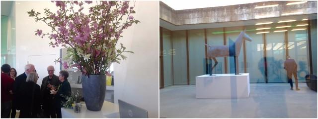 Frühlingsmuseum feiert junge Kunst – das Pferd im Hof ist ein Werk der «portugiesischen Fischli/Weiss» Gusmao und Piva