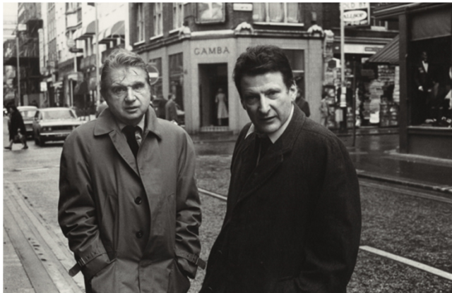 Frunde, Konkurrenten, Gambler: Francis Bacon und Lucian Freud in London (Foto and copyright Harry Diamond)