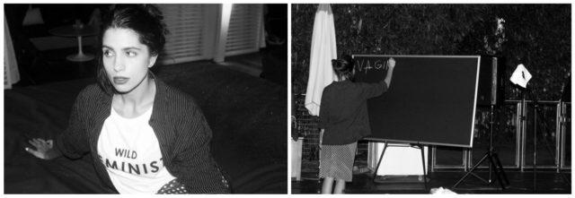 Nadya Tolokonnikowa unterrichtet die US-Kunstszene, wie man in einem repressiven Klima ein Mensch bleiben kann. Fotos: Purple Magazine