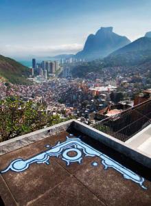 Über den Favelas: Ein Zezão in São Paolo.