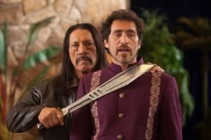 Machete und die Bösewichte Mendez...