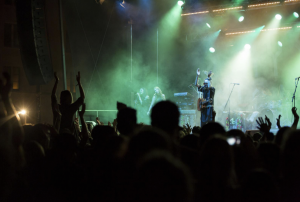 2013 konnten «Crystal Fighters» das Publikum auf dem Kasernenareal begeistern.