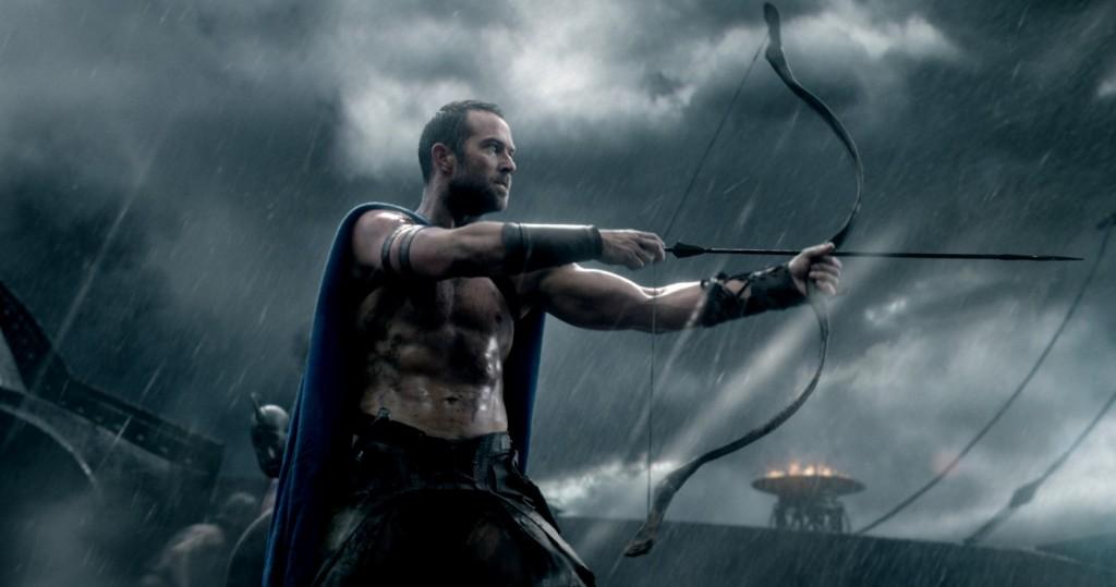 Der Pfeil der Provokation: Themistokles tötet Darius. (Bilder: Warner)
