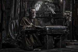 Curtis' Mentor: Gilliam, der Vater des Aufstands.
