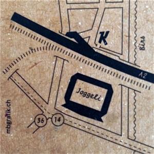 Hinter dem Joggeli: Beim «K» ist die Kaschemme zu finden.