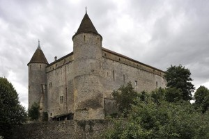 Fiktiver Tatort, reales Gebäude: Schloss Grandson am Neuenburgersee. (Keystone)