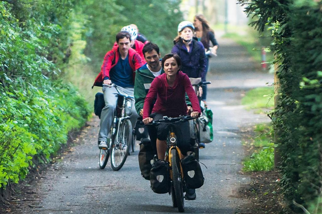 Tour de Vie: Kiki, Hannes und ihre Freunde.