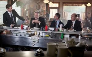 Entzweite Familie: Hank, Glen, Dale und Richter Joseph Palmer.
