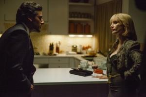 Ausdrucksstarkes Duo: Oscar Isaac und Jessica Chastain.