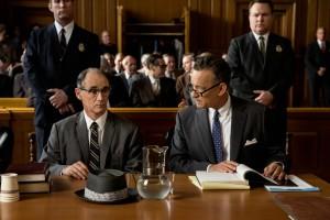 Vor Gericht: Rudolf Abel und James Donovan.