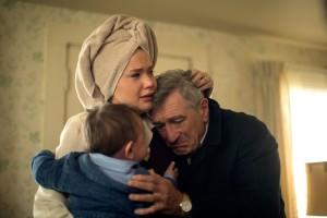 Am Ende: Joy mit ihrem Vater (Robert de Niro).