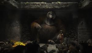... und der machtgierieg Orang-Utan King Louie.