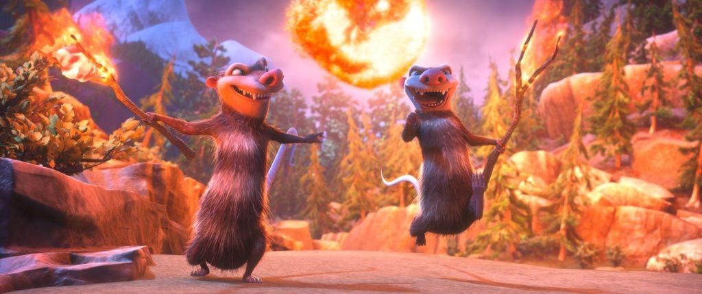 Die beiden Chaoten dürfen natürlich auch nicht fehlen: Eddie und Crash.