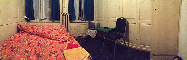 Für hundert Franken pro Nacht: Das Zimmer
