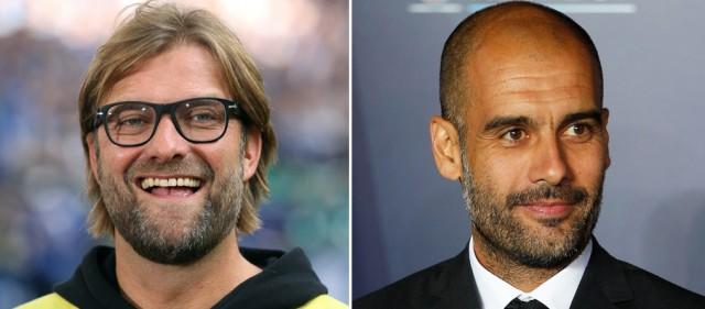Wer wird triumphieren? Bild oben: Jürgen Klopp und Pep Guardiola. (Keystone)